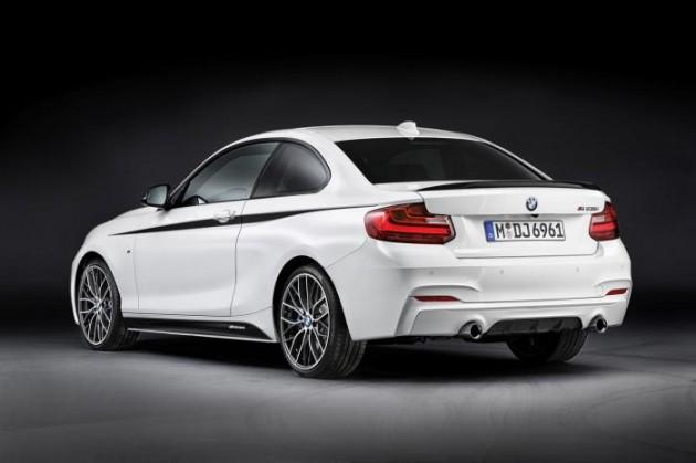 BMW 2 Series M Performance kit-rear