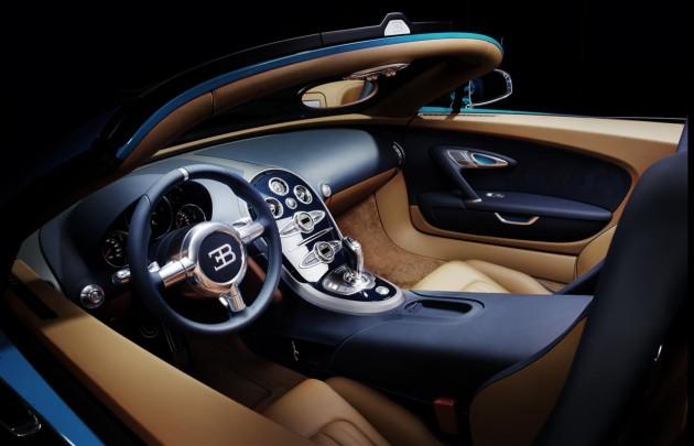 Bugatti Veyron Grand Sport Legend Meo Costantini-interior