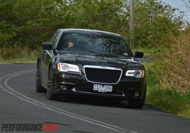 Chrysler 300 SRT8 Core handling