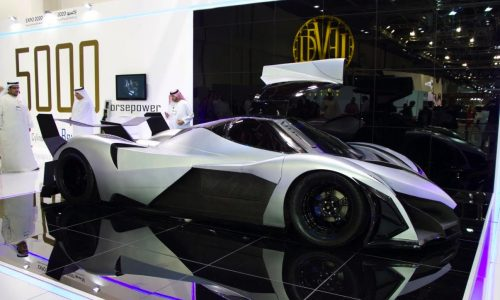 Devel Sixteen; 560km/h hypercar with insane V16 engine
