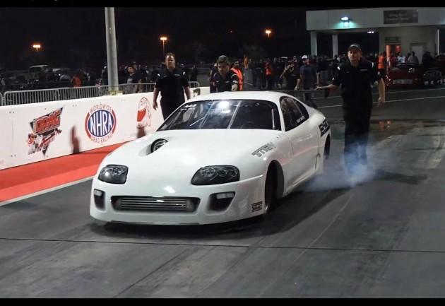 EKanoo Toyota Supra 6.15 seconds
