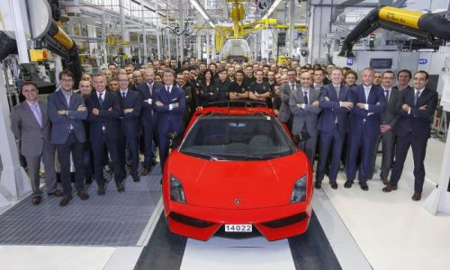 Final Lamborghini Gallardo leaves the production line