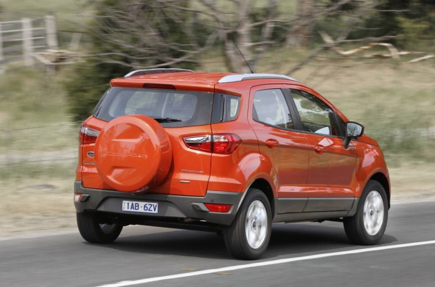 Ford EcoSport Titanium rear