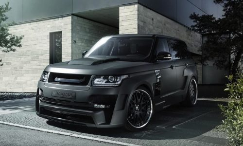 Hamann Mystere Range Rover gets grey makeover