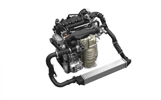 Honda VTEC TURBO 1.5L engine