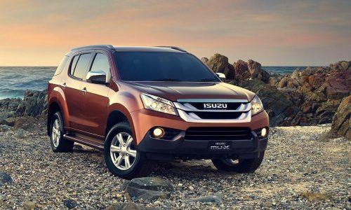 Isuzu MU-X SUV on sale in Australia in December