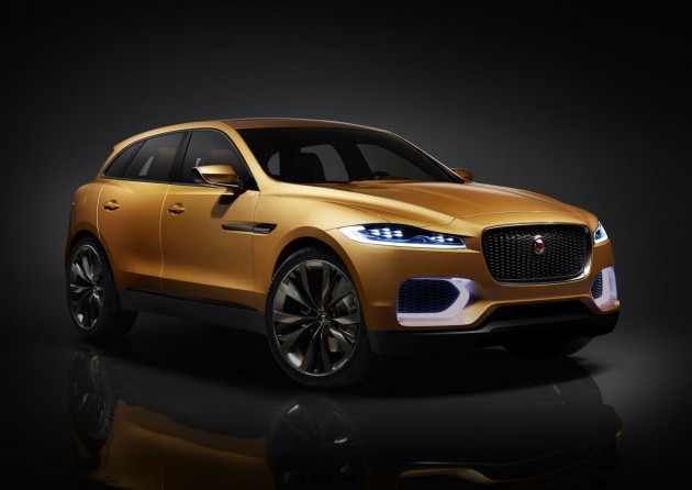 Jaguar C-X17 Sports Crossover concept-China