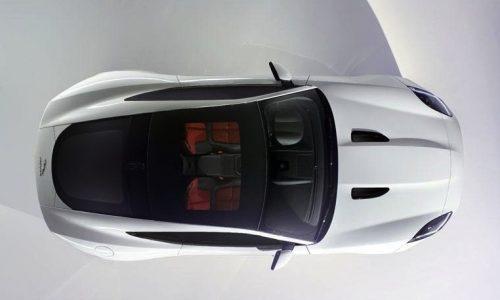 Jaguar F-Type Coupe previewed before LA show debut