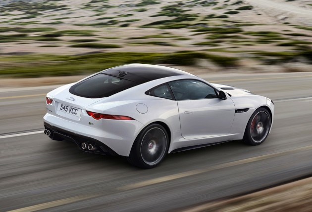 Jaguar F-Type R Coupe rear