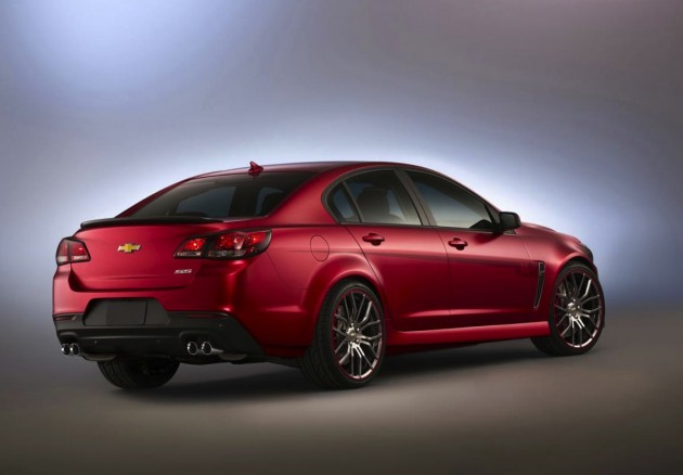 Jeff Gordon Chevrolet SS rear-2013 SEMA