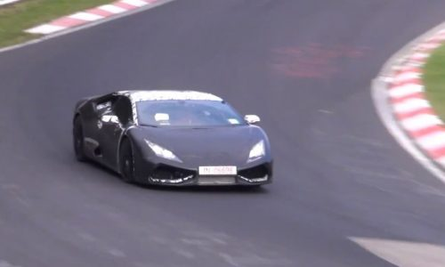 Video: Lamborghini 'Cabrera' Gallardo successor hits the 'Ring