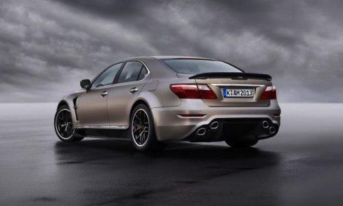 New Lexus LS 'TMG 650' super sedan in the works – report