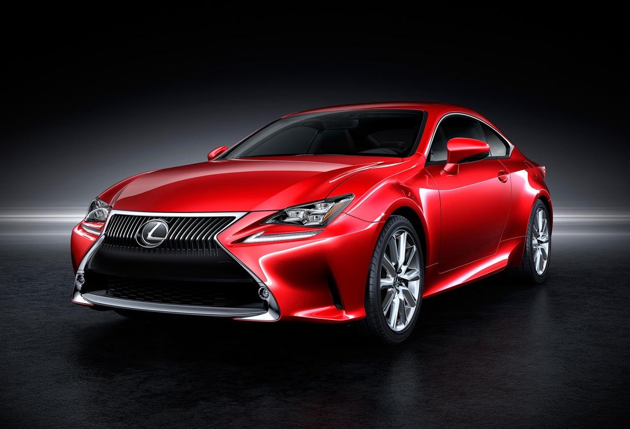 Lexus Rc Revealed Rc 350 Rc 300h First Models Performancedrive