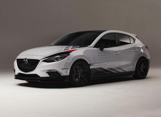 Mazda Club Sport 3-2013 SEMA