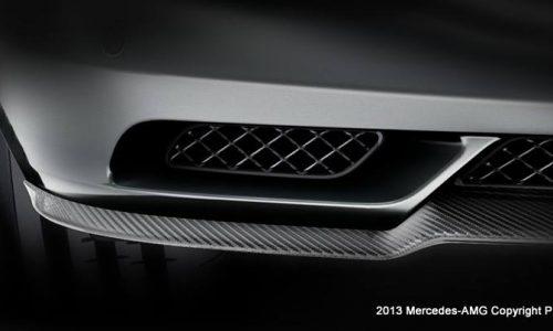 Mercedes-Benz SLS AMG special edition teaser?
