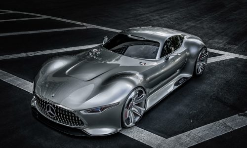 Mercedes-Benz AMG Vision Gran Turismo game car revealed