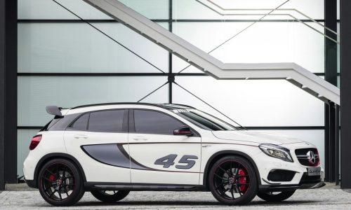 Mercedes-Benz GLA 45 AMG concept unveiled