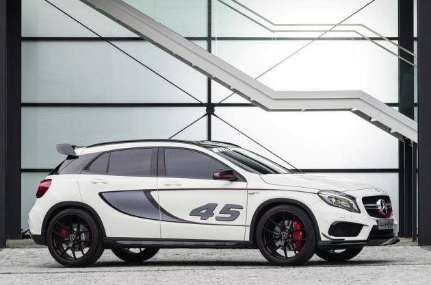 Mercedes-Benz GLA 45 AMG concept-side