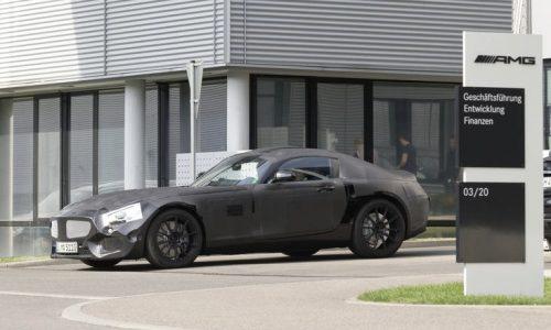 Mercedes-Benz GT AMG 'SLC' details emerge