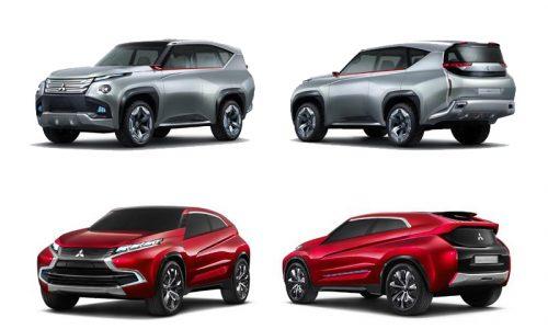 Future Mitsubishi Pajero, ASX, Outlander previewed?