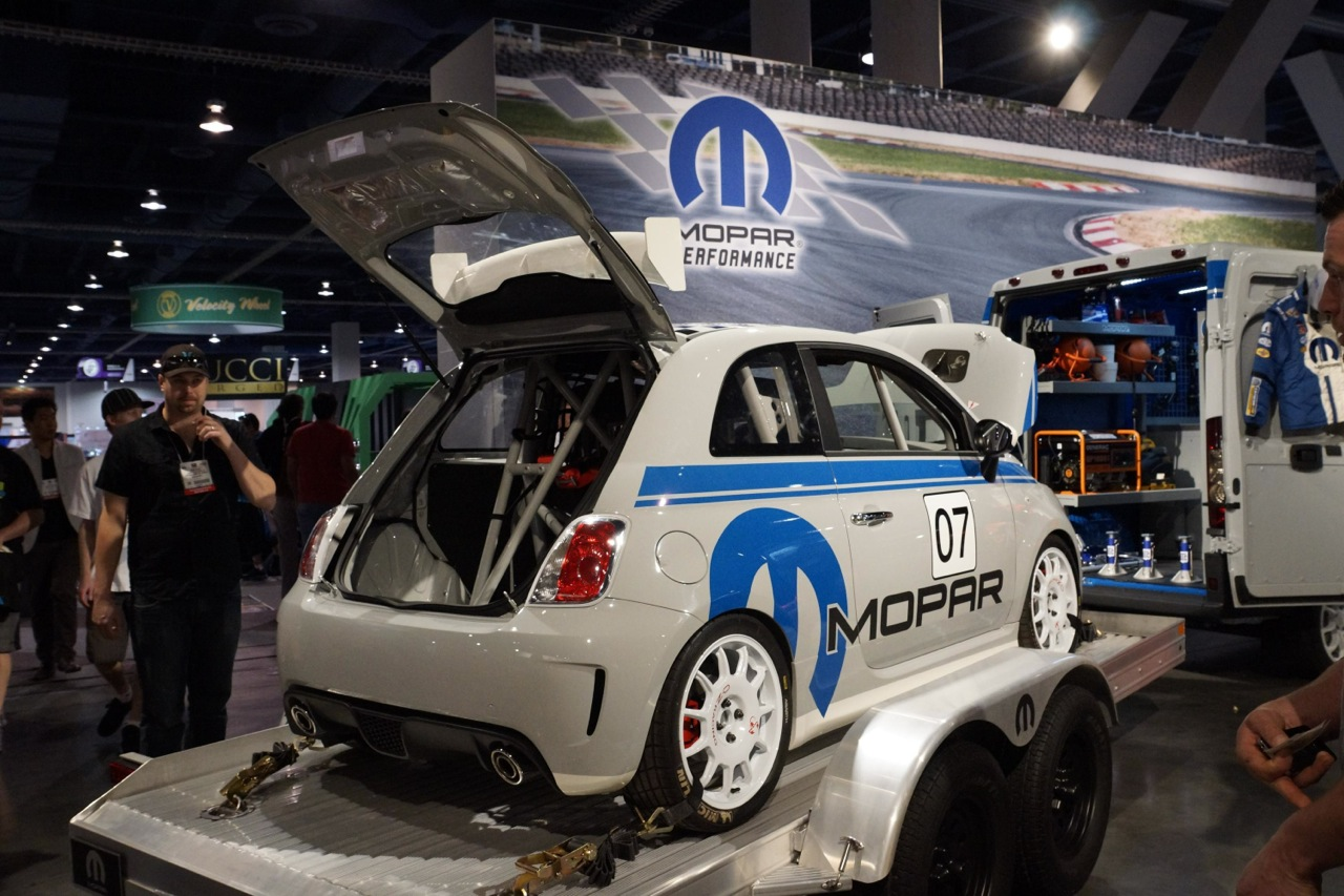 Mopar Fiat Abarth 500 2013 Sema