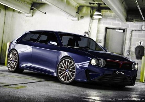 New Lancia Delta Integrale-Granata concept