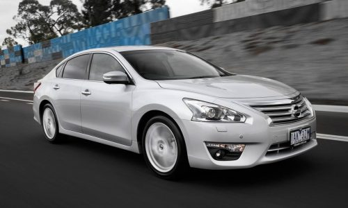 Nissan Altima on sale in Australia from $29,990