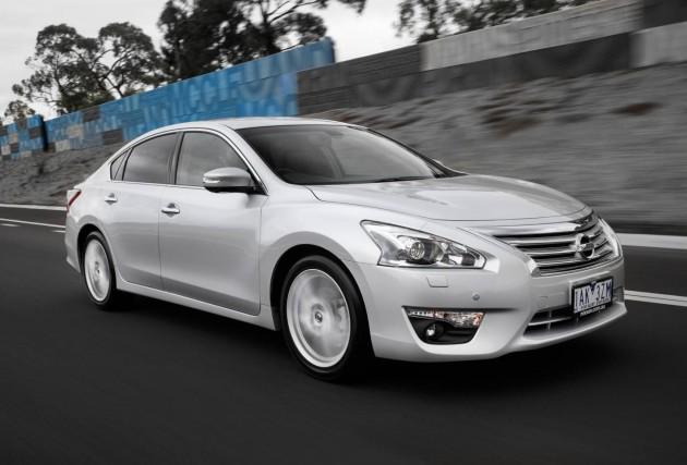 Nissan Altima TI-S driving