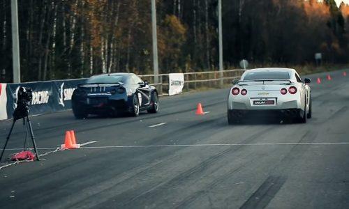 Nissan GT-R battle: 1140kW Switzer vs 1251kW AMS