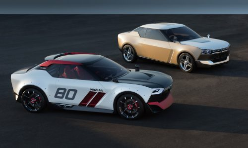 Nissan IDx concepts inspired by Datsun 1600 & 240K