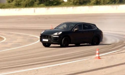 Video: Porsche Macan prototype tears up the track