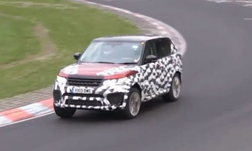 Video: Range Rover Sport 'RS' prototype spotted at Nurburgring