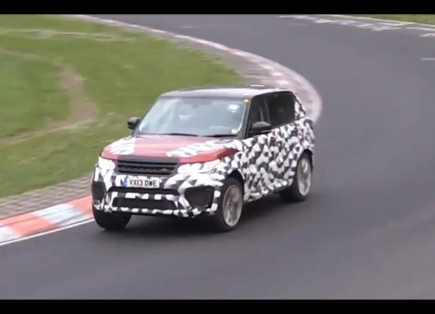 Range Rover Sport RS prototype