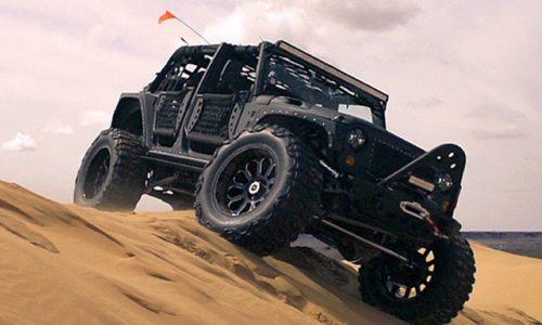 Starwood Motors creates monster 'Full Metal Jacket' Jeep