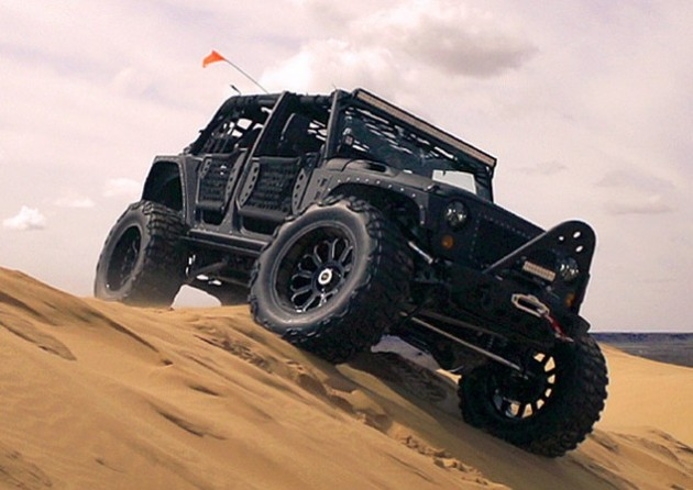 Starwood Motors Full Metal Jacket Jeep-off road