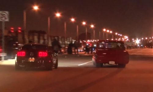 Insane street racing in L.A. with 1000hp drag car