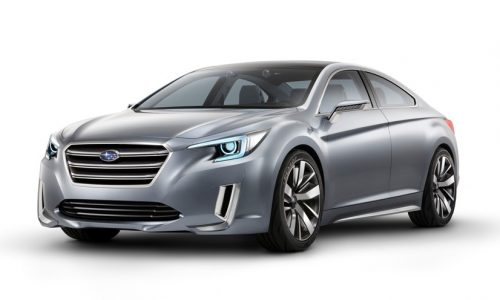 2015 Subaru Liberty previewed with Legacy Concept