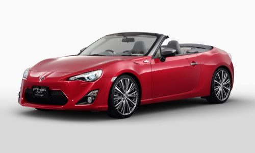 Toyota 86 convertible still only a concept