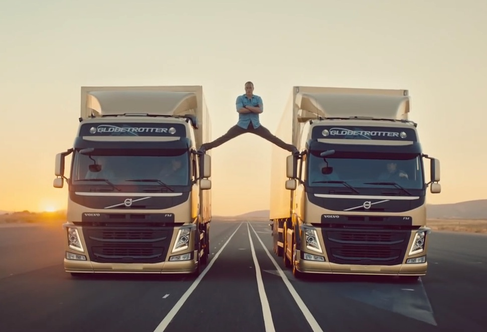 Van Damme performs 'epic split' in latest Volvo Trucks ad | PerformanceDrive