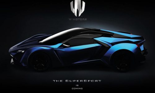 W Motors SuperSport hypercar to offer over 746kW (1000hp)