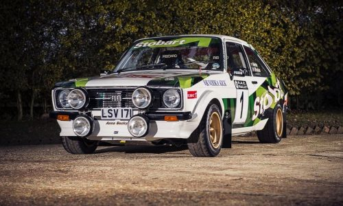 For Sale: 1972 Ford Escort RS1800 tested by Colin McRae