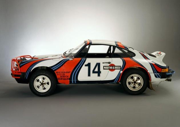 1978 Porsche 911 Martini rally