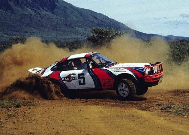 1978 Porsche 911 Safari rally