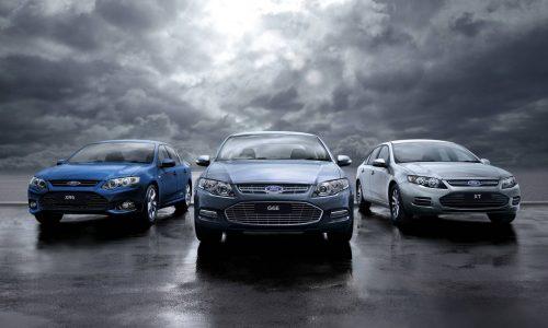 Ford announces 2014 model plans; Falcon, XR8, Ranger, Kuga
