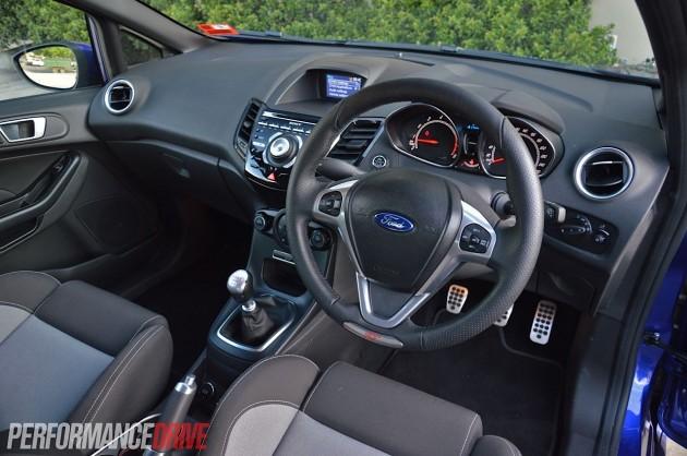 2013 Ford Fiesta ST interior