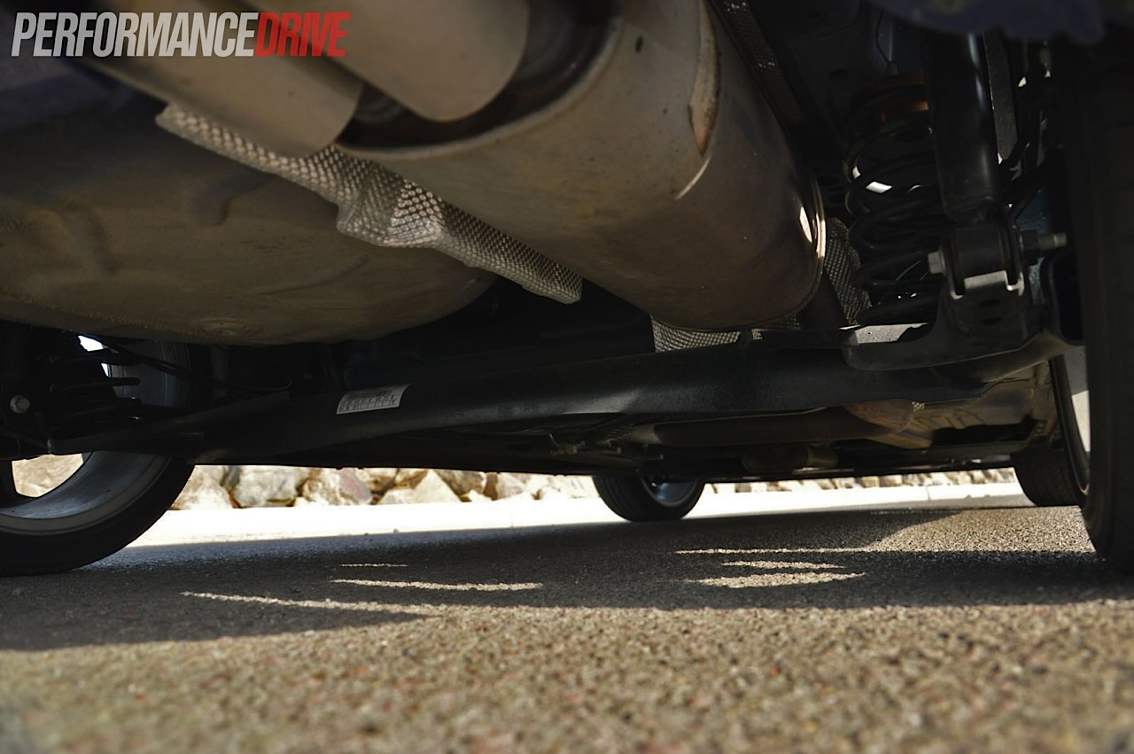 2013 Ford Fiesta St Torsion Beam Rear Suspension