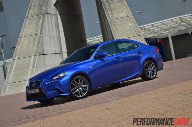 2013 Lexus IS 300h F Sport-Flame Blue