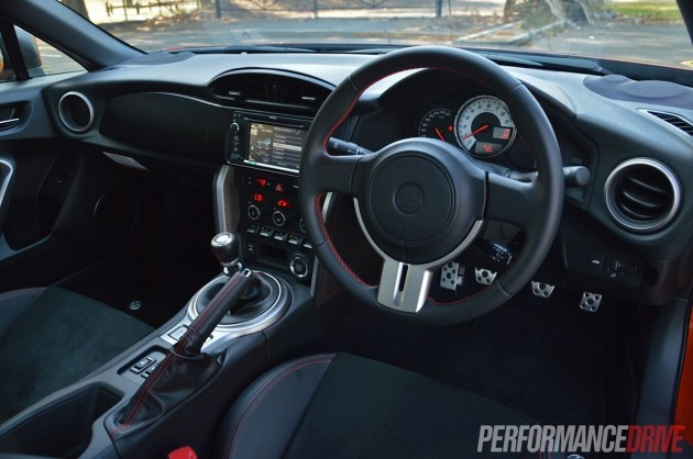 2013 Toyota 86 GTS Tada prototype interior