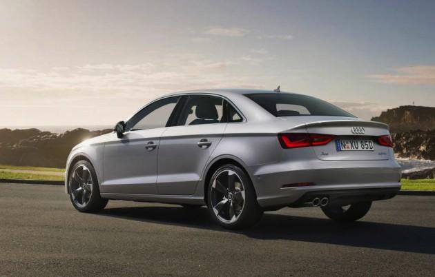 2014 Audi A3 sedan-rear