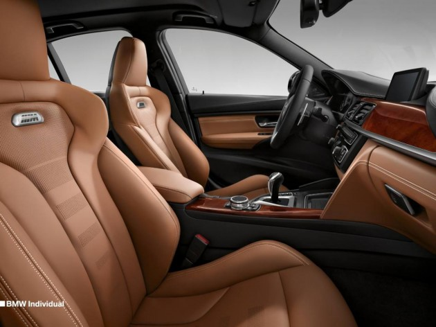 2014 BMW M3 Individual interior